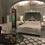 Our room at The Pearl Palace Heritage hotel in Jaipur