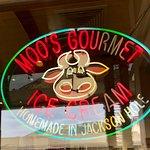 Foto de Moo's Gourmet Ice Cream