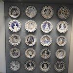 Famous women plates