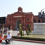 Outside Partition Museum