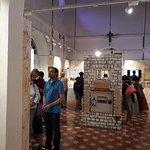 Inside premises of Partition Museum
