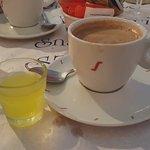 Coffe and limoncello