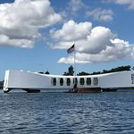 USS Arizona memorial.