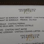 AOC Pessac-Léognan blanc grand cru classé très bien 8 euro