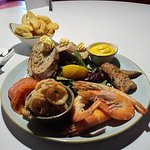 This was the seafood platter as you can see it was fantastic. would advice you to try it, if you