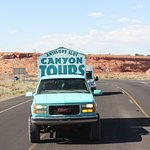 getting to the canyon