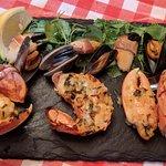 Seafood amazing platte