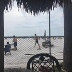 Who the hell wants to be fenced in at the beach?