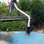 Dragon slide