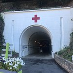 Entrance to Jersey War Tunnel
