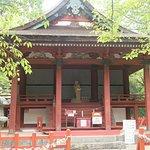 たまたまたどり着いた恋神社。3周この神社を周回参拝すると縁結びの祈願が叶うらしいです!! 誰も居ないんで恥ずかしながらやってみました(笑) おっさんがしてる姿はヤバいですね!!