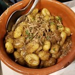 gnocchi with truffles and porcini