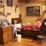 La chambre à coucher d'époque (j'adore)