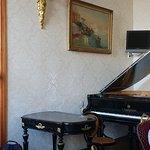 Piano i spisesalen