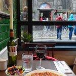 My first meal in Edinburgh at Bella Italia North Bridge