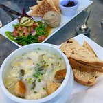 Cullen Skink and chicken pate
