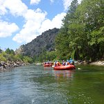 Drifting along another calm stretch of the Arkansas River