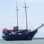 A Luanda turismo nos proporcionou um passeio  maravilhoso em sua escuna do estrela do Pirata SEN
