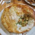 The huge pot pie