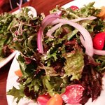 we loved their fresh locally sourced organic salads!