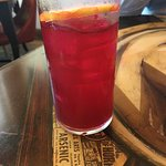 Beet shrub and ginger beer