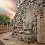 ภาพถ่ายของ Sanchi Stupas