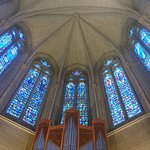 教会の最も奥のところの天井です。