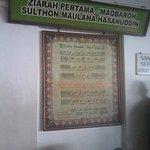 Ziaroh makam sultan Hasauddin di masjid agung Banten