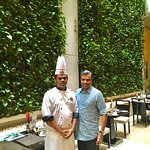 With Chef Arun