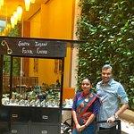 With Hostess Shalu