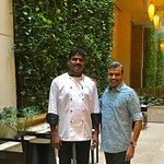 With Master Chef Papa Rao