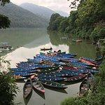 Phewa Tal (Fewa Lake) Foto