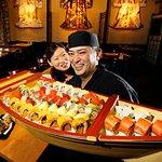 Celebration cake at Sushi Tetsu