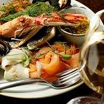 Seafood Platter - Langoustines, Sweetcure Herring, Smoked Salmon, Mussels