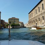 Leaving Venice By Water Taxi