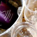 Bottle of Janisson NV Brut Tradition Champagne