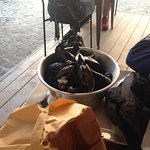 cozze dell'antipasto di mare