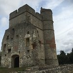 The remains of Donnington Castle