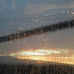 Vancouver bridge. Photo taken from below onboard Radiance of the Seas.