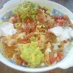 Vegetable nachos