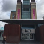 Entrance to the Baltic Centre.