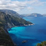 Stunning Landscape on the road down to Assos