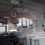 Oporco logo. Don't miss us.