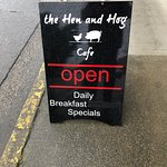 Foto de The Hen and Hog Cafe