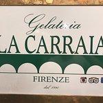 Photo de Gelateria La Carraia