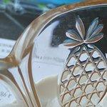 отпечаток пальца внутри креманки