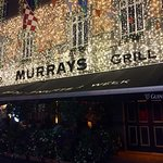 Murray's at night. They even have cafe seating out front and a beer garden in the back...
