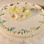 Traditional Italian Wedding Cake - Delicious!
