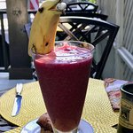 Killer Smoothie.. with seagull!