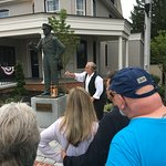 Beginning of the tour - the ghost of Ginny Wade's father!